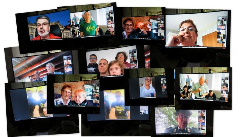 Videochat am Schützenfestsamstag